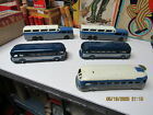 TOOTSIETOY GREYHOUND BUS COLLECTION OF 5 TOYS DIECAST 40s 50s ALL EXC NEAR MINT