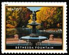 US 5348 Express Mail Bethesda Fountain 2550 single 1 stamp MNH 2019