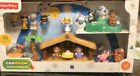 New Sealed Little People Nativity Set Fisher Price Christmas Story Songs Lights+
