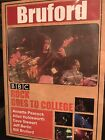 Bill Bruford Rock Goes to College + Bruford Borstlap Live DVDs Free Shipping