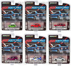 HOT HATCHES SERIES 1 6 PIECE SET 1 64 DIECAST MODEL CARS BY GREENLIGHT 47080
