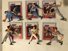 1988 Starting Lineup MLB Figure Set with Cards - Mattingly, Boggs, Schmidt