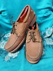 TIMBERLAND Oiled Leather Lace Up Boat Deck Dockers Shoe Men Size 12W