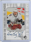 1999 Upper Deck SP Authentic Sign of the Times Wayne Gretzky AUTO #WG
