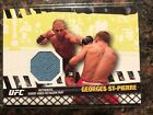 🔥📈2010 Topps UFC Series 4 Georges St. Pierre Fight Mat Relic📈🔥