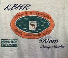 90s VTG NORTHERN EXPOSURE TV SHOW Chris In The Morning KBHR T Shirt Small