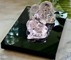 Daum Pink French Crystal Angelot Clair Angel Figurine New Signed Authentic