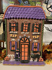 Halloween Gingerbread Spooky Haunted House 15 Clay Dough Witch Cat Candy Corn