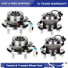 Front Wheel Bearing and Rear Hub Assembly 4pc for 2008 2009 2010 Saturn Vue