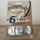 Autographed 2005 Paul Wolfe Country Crock Evernham 1 64 ARC NASCAR Promo Diecast