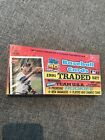 TOPPS 1991 BASEBALL TRADED SET FACTORY SEALED - Bagwell and Pudge RCs!!