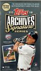 2018 Topps Archives Signature Series Retired Player Edition Sealed Hobby Box