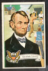 1956 Topps US Presidents Trading Cards 21