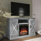 47 inche TV Stand For TVs Up to 50 W Infrared Electric Fireplace