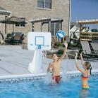 Dunn Rite Swimming Portable Pool Basketball Hoop Stainless Steel Rim Outdoor NEW