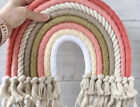 Home Decor Rainbow Weaving Ornament Nordic Fresh Simple Kid Room Wall Hanging