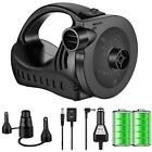 Electric Air Pump Rechargeable Portable Quick Fill Mattress Couch Blow Up Pool