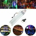 Meteor Shower Rain LED Lights Christmas Falling String Tree Decoration Outdoor