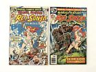 RED SONJA #4 & #5 (1975-1976) (Marvel Feature) 2 comic books lot