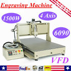 Usb 4 Axis 1.5kw2.2kw Cnc Router 3d Engraver Engraving Drill Mill Metal Machine