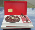 Vintage Zenith ZP2 Portable Record Player Phonograph Turntable Works