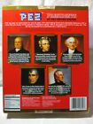 PEZ PRESIDENTS SET OF 5 IN GIFT BOX - VOLUME II (2)1825-1845 J.Q. ADAMS- J.TYLER