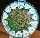 Vintage Murano Fratelli Toso Millefiori Art Glass Paperweight Excellent