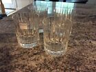 Set 4 Baccarat Crystal HARMONIE Old Fashioned Glasses Tumblers Perfect Condition
