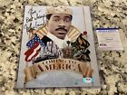 John Landis (Director) Autographed Coming To America Movie Poster Photo PSA DNA