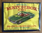 Official Matchbox Series Deluxe Collectors Case Vintage 1968 With Cars