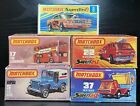 Old Vintage Matchbox Cars Lot Of 5 Comes With Original Boxes Londoner US Mail