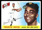 Top 10 Baseball Cards to Remember Monte Irvin 28