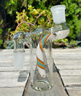 Glass Ash Catcher Colorful Downstem 18mm Female On the top to the Side