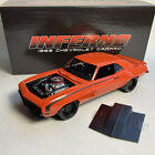ACME GMP 18906 1969 CHEVY CAMARO STREET FIGHTER INFERNO DIECAST MODEL CAR 118