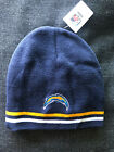 San Diego CHARGERS NFL EMBROIDERED KNIT BEANIE HAT CAP
