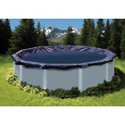 24 ft Round Blue Above Ground Swimming Pool Winter Cover