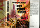 JOHN BRUNNER TIMES WITHOUT NUMBER FIRST EDITION vintage sci fi