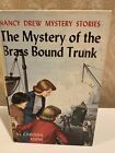 Nancy Drew 17 The Mystery Of The Brass Bound Trunk 1st Edition Hardcover 1940