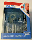 Star Trek Locutus of Borg Die Cast Collectible Mask With Light and Sound NEW