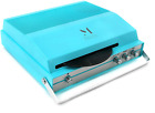 Portable Vintage Record Player for 7 inch Vinyl 2 Speed Bluetooth Turntable with
