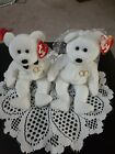 2001 Mr. And Mrs Ty Beanie Babies P.E. Pellets Possible Error's.