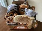 Star Wars Galaxy's Edge Trading Outpost Target Set of 6 Plush with Display Box