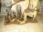 Department 56 Neapolitan A Child Is Born Nativity Set of 10 open box Christmas