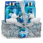Lovery Spa Gift Set w/ Ocean Bliss Scent Makes Great Anniversary Gift (Set of 9)