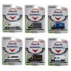 GREENLIGHT 53010 ROUTE RUNNERS SERIES 1 SET OF 6 VANS DIECAST 164 MODELS