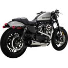 Vance  Hines 27627 Upsweep 2 into 1 Stainless Steel Exhaust for Sportster 04 20