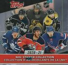2020 2021 Topps NHL HOCKEY Sticker Collection Sealed Box 250 Stickers 2020 21