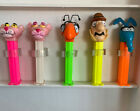 Set of 5 Pink Panther Pez. Inspector, Aardvark,Ant And 2 Different Pink Panther