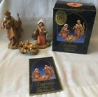 Fontanini The Holy Family Heirloom Nativity Roman 3 PC Set 71503 Italy 1992 IOB