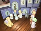 Heavenly Blessings AVON Nativity set 9 pieces Holy Family Wise men etc 1986